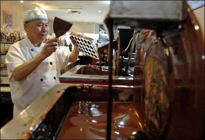 Schokoladenproduktion